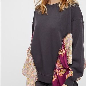 Free People She's Just cute Pullover Small NWOT S